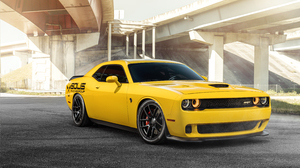 Yellow Car 7909x5281 Wallpaper
