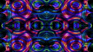 Artistic Colors Digital Art Pattern Psychedelic 1920x1080 Wallpaper