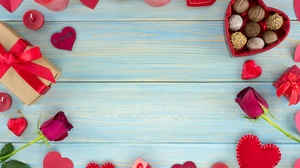Candy Chocolate Gift Heart Love Romantic Rose Valentine 039 S Day 4000x2670 Wallpaper