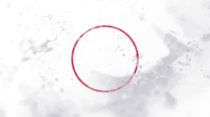 Circle White Red Abstract Supremacy 3840x2160 Wallpaper