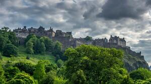 Man Made Edinburgh Castle 2560x1440 wallpaper