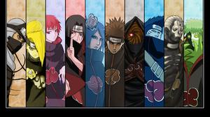 Hidan Naruto Zetsu Naruto Pain Naruto Obito Uchiha Konan Naruto Sasori Naruto Deidara Naruto Kisame  1600x1200 Wallpaper
