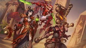 Valeera Sanguinar Wizard Diablo Iii 1920x1200 wallpaper