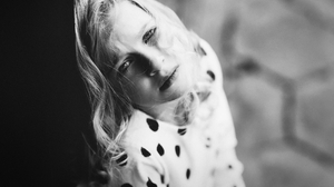 Model Depth Of Field Portrait Blonde Looking At Viewer Photography Children Monochrome 2048x1362 Wallpaper