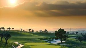 Cloud Fairway Golf Course Golf Green Path Sky Sport Tree 2048x1536 wallpaper