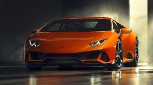 Car Lamborghini Lamborghini Huracan Orange Car Sport Car Supercar Vehicle 3840x2160 Wallpaper