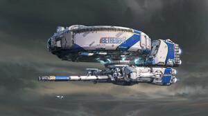 Mark Li Science Fiction Artwork Futuristic Vehicle 3840x2136 Wallpaper