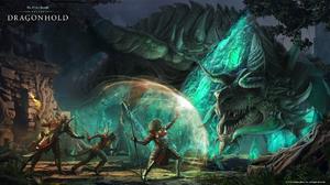 The Elder Scrolls Online The Elder Scrolls Online Dragonhold RPG Video Games PC Gaming 2019 Year Dra 1920x1080 Wallpaper