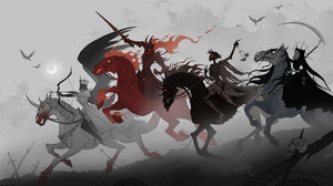 Four Horsemen Of The Apocalypse 3215x1865 Wallpaper