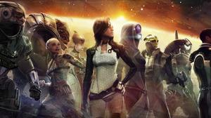 Garrus Vakarian Grunt Mass Effect Jack Mass Effect Legion Mass Effect Miranda Lawson Mordin Solus Ta 1920x1080 Wallpaper