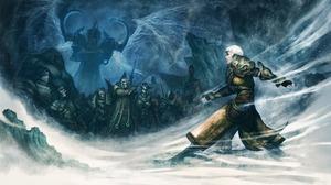 Diablo Iii Reaper Of Souls Malthael Diablo Iii Monk Diablo Iii Short Hair Undead White Hair Woman Wa 3200x2000 Wallpaper
