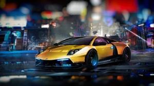 Lamborghini Yellow Car 1920x1080 Wallpaper