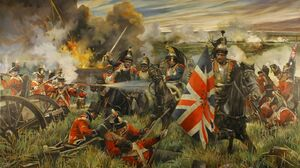 Battle Of Waterloo British Army War Military Army Soldier History Artwork 1600x1058 Wallpaper