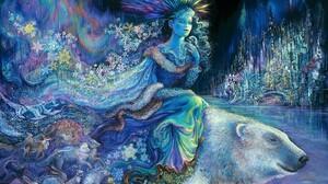 Artistic Fantasy Painting Polar Bear 1600x1200 Wallpaper