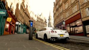 Forza Horizon 4 GTR R33 Video Games Car White Cars Screen Shot Vehicle 1920x1080 wallpaper