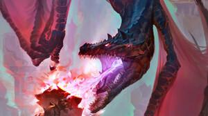 Giant Dragon Shield 1688x3000 Wallpaper