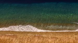 Maldives Sea Foam Aerial View Coastline Sea 2000x1333 Wallpaper