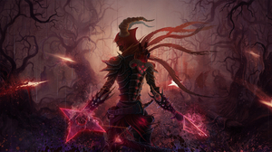 Demon Hunter Diablo Iii Diablo Iii 3302x1200 Wallpaper