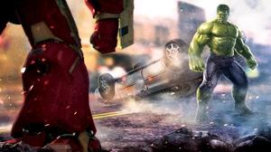 Hulk Hulkbuster 6388x3644 wallpaper
