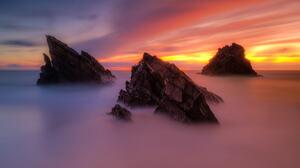 Bruno Soares Landscape Colorful Mist Clouds Nature Rocks Sunlight 2048x1366 wallpaper