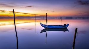 Lake Sunset 3749x2347 Wallpaper