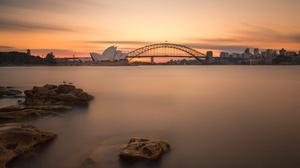 Australia Bridge Sydney Sydney Harbour Bridge 2048x1365 Wallpaper