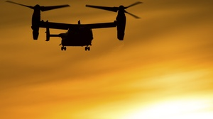 Aircraft Bell Boeing V 22 Osprey Helicopter Silhouette 4407x3013 Wallpaper
