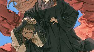Anime Anime Girls Zen Yukisuke Original Characters Fantasy Art Vertical Simple Background 3000x4308 Wallpaper