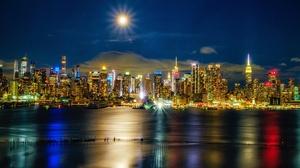 Manhattan Hudson River River Building City Skyscraper 2048x1294 Wallpaper