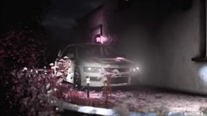Forza Forza Horizon Forza Horizon 4 Car Dark Background Race Cars JDM Japanese Cars Evo Lancer Evolu 1668x940 wallpaper