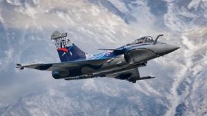 Aircraft Dassault Rafale Jet Fighter Warplane 4056x2545 wallpaper