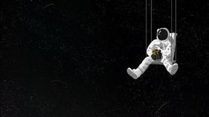 Space Swing 3840x2968 Wallpaper