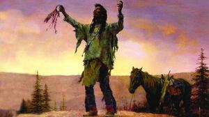 Artistic Native American 2008x1483 Wallpaper