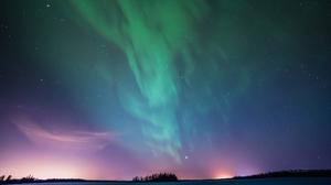 Aurora Borealis Sky Stars 5120x2880 Wallpaper
