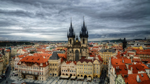 Architecture Building City Cityscape Colors Czech Republic Prague 1920x1200 wallpaper
