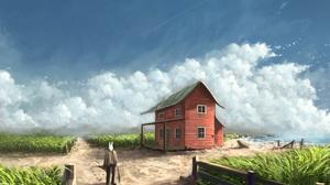 Fantasy House 2537x1645 wallpaper