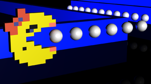 Video Game Ms Pac Man 1600x900 wallpaper