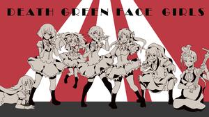Zombieland Saga Anime Girls Zombie 3 Ai Mizuno Zombie 1 Sakura Minamoto Zombie 2 Saki Nikaidou Zombi 3543x2125 Wallpaper