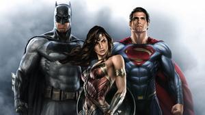 Dc Comics Batman Wonder Woman Superman 3456x1944 Wallpaper