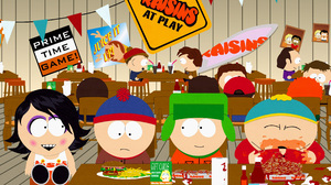 Eric Cartman Kyle Broflovski Stan Marsh 3300x2550 Wallpaper