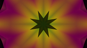 Abstract Artistic Colors Digital Art Gradient Shapes Star 1920x1080 Wallpaper