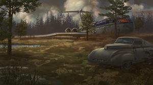 Post Apocalyptic Wasteland 1920x1080 Wallpaper