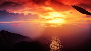 Grand Theft Auto V Sky Sun 5325x1833 wallpaper