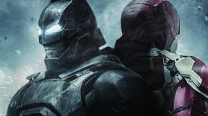 Batman Iron Man 3508x2492 Wallpaper
