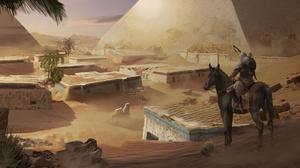 Assassin 039 S Creed Assassin 039 S Creed Origins Bayek Of Siwa Pyramid 1920x1080 Wallpaper