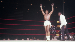 Cassius Clay Drew Bundini Arms Up Boxing Boxing Ring American Flag 1964 Legend 1920x1080 Wallpaper