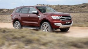 Car Ford Ford Everest Mid Size Car Red Car Suv 4096x2746 Wallpaper