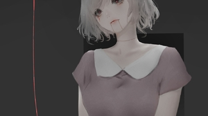 Anime Girls Anime Aoi Ogata 1344x1344 Wallpaper