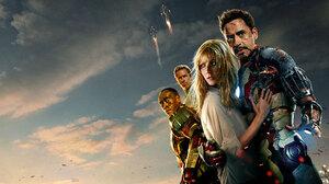 Iron Man Iron Man 3 Pepper Potts Robert Downey Jr War Machine 2048x1152 Wallpaper