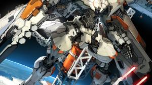 Robot Mecha Fight Mech War Fantasy Art Concept Art Toshiaki Takayama 1063x1418 Wallpaper